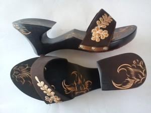 sandal wanita terbaru, sandal kelom tasikmalaya