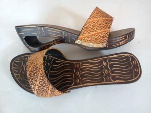 sandal handmade, kerajinan tangan , handycraft,