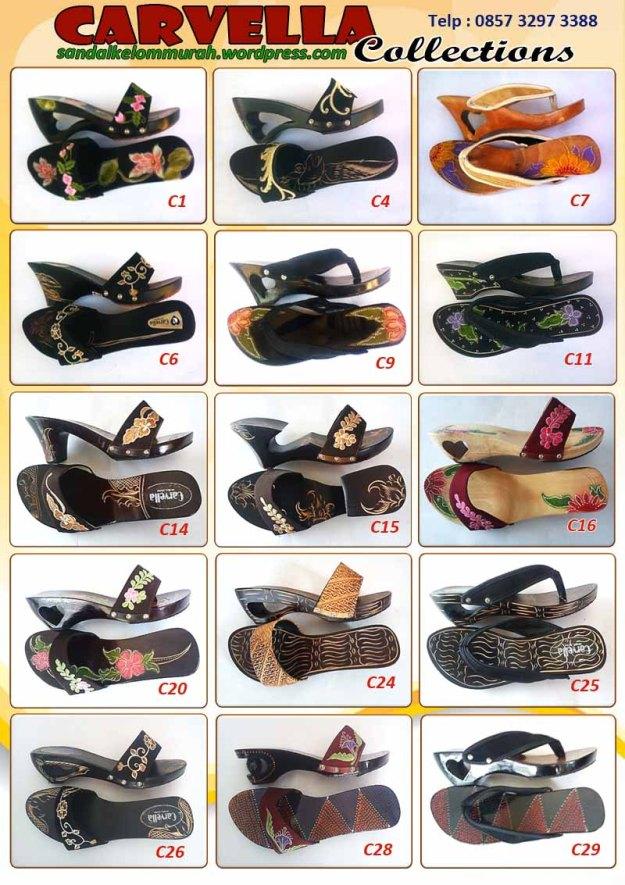 Katalog Sandal Wanita Sandal Kelom